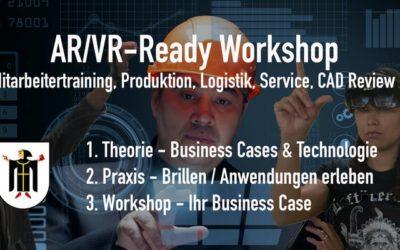 MacSchneider @ AR/VR – Ready Workshop für die Industrie. Edition München.
