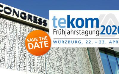 """ABGESAGT: tekom Frühjahrstagung 2020: """"New Learning – New Documentation"""""""